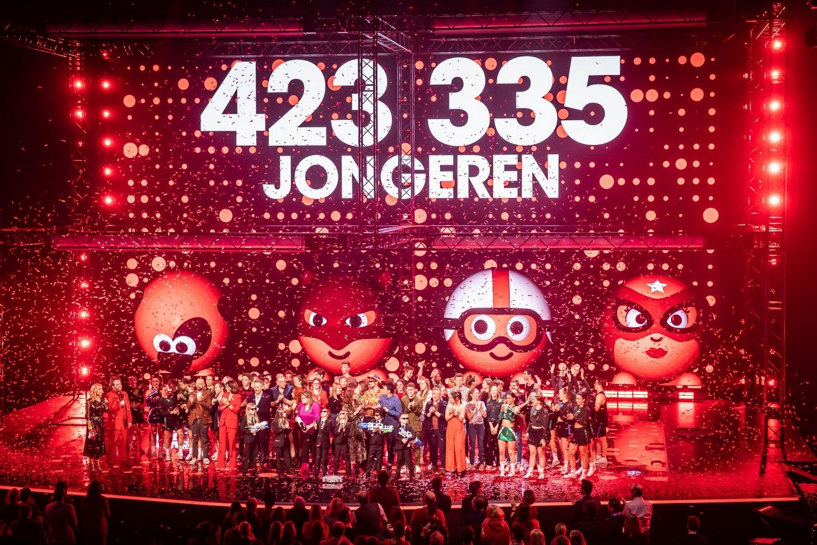 Rode Neuzen Dag 2019 maakt 423.335 jongeren sterker - Rode Neuzen dag 2019 1
