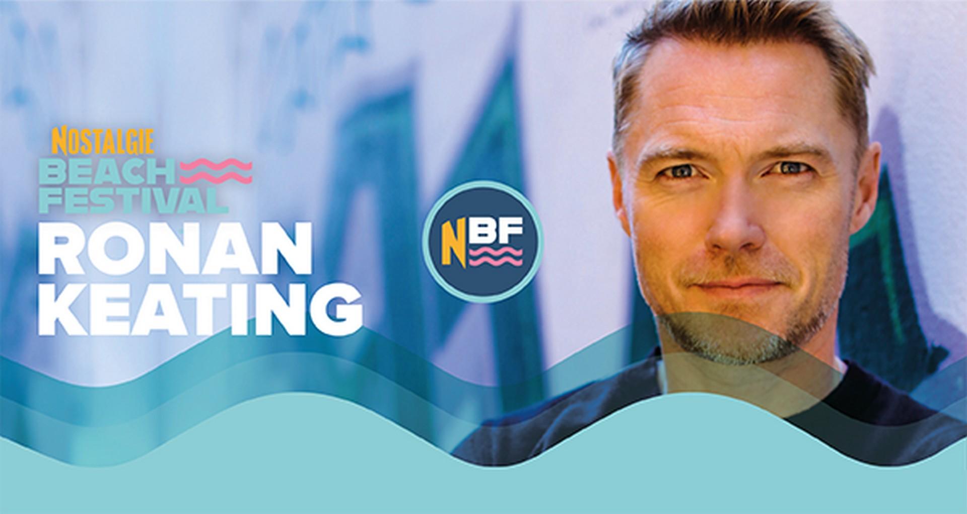 Ronan Keating volgende topper op NBF - Ronan Keating
