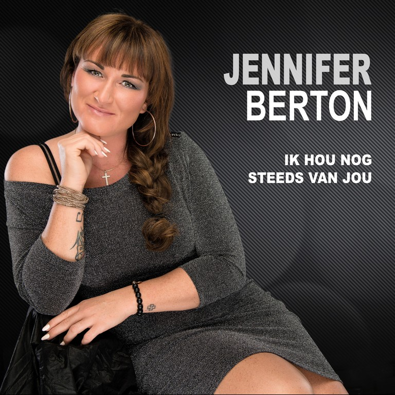 Jennifer Berton nieuwe single 'Ik hou nog steeds van jou' - Hoes Jennifer Berton Ik hou nog steeds van jou