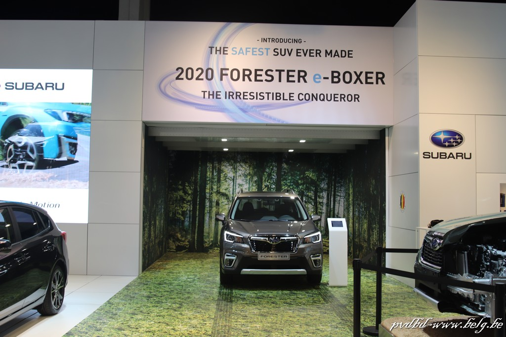 Milieuvriendelijk autosalon van Brussel opent zijn deuren - IMG 4055