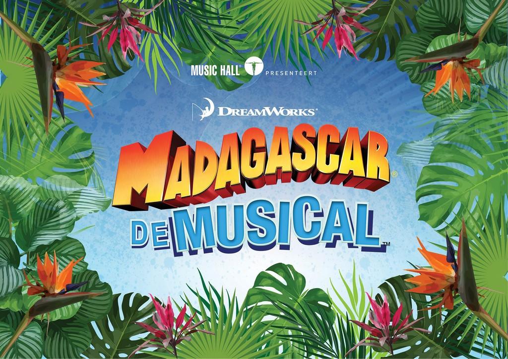 Musicaltalent en verrassende pinguïnstemmen in Madagascar - Logo Madagascar de musical