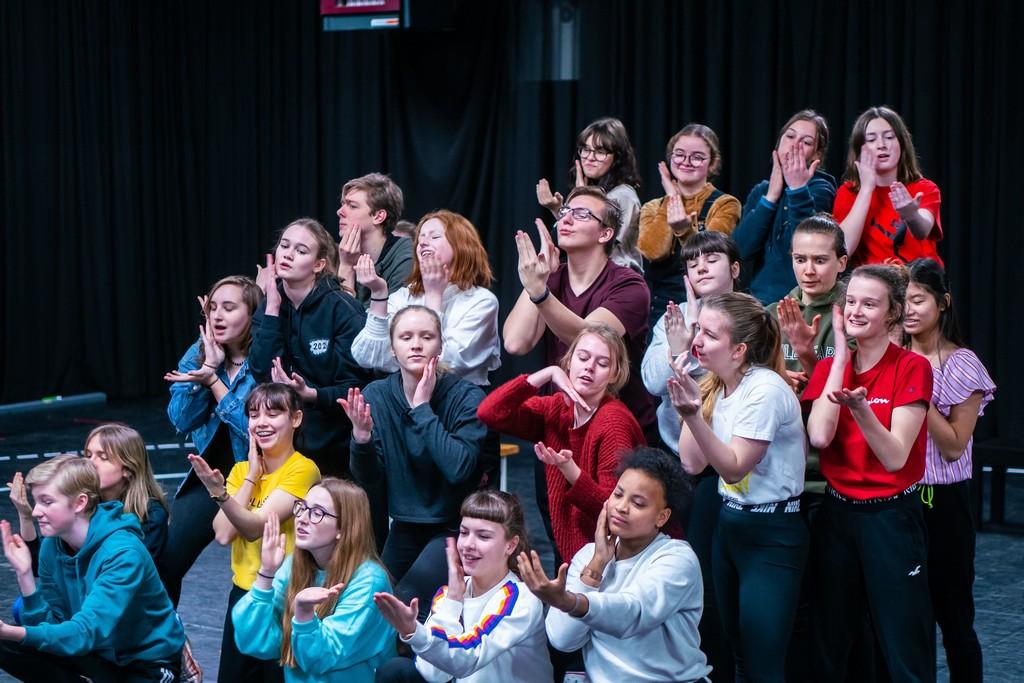 Het 1ste toonmoment van The Musical Academy was een groot succes - Music Academy