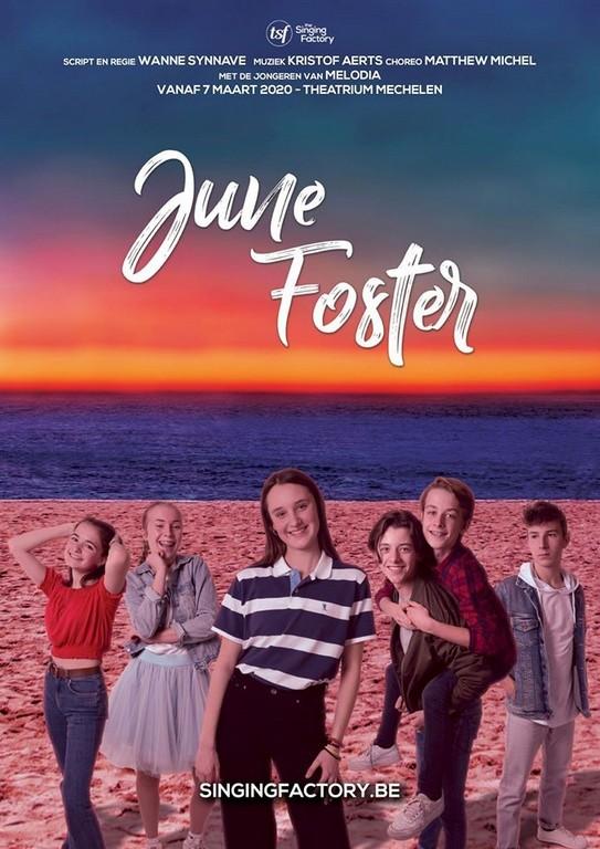 The Singing Factory geeft jonge talenten de kans in June Foster - Affiche June Foster