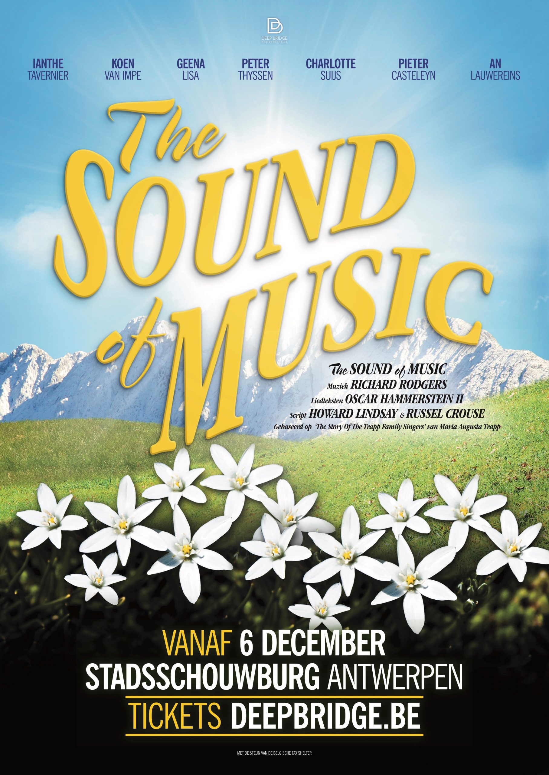 Alleen maar musicaltoppers in 'The Sound of Music'. - Affiche The Sound Of Music scaled