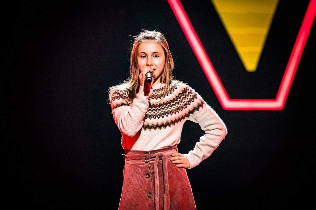 'Annie' Chaya Van Mol (12) waagt vrijdag haar kans in The Voice Kids (VTM) - Chaya The Voice Kids