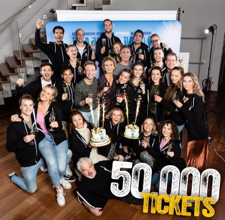Vlaamse versie van MAMMA MIA! verkocht al 50.000 tickets!