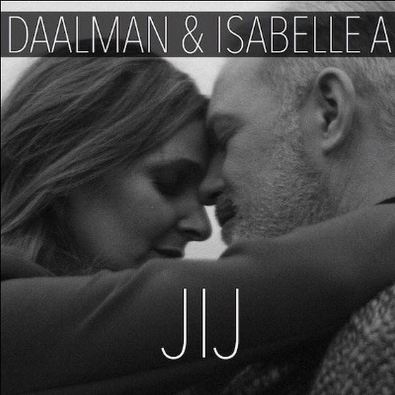 Duetsingle Jij bij muzikale soulmates Daalman en Isabelle A - Hoes Daalman Isabelle A jij