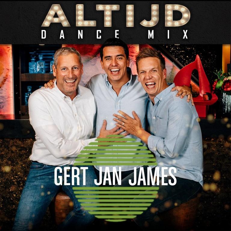 Sportpaleis-DJ maakt een dance remix van superhit 'Altijd' - Hoes Gert Jan James Altijd Dance