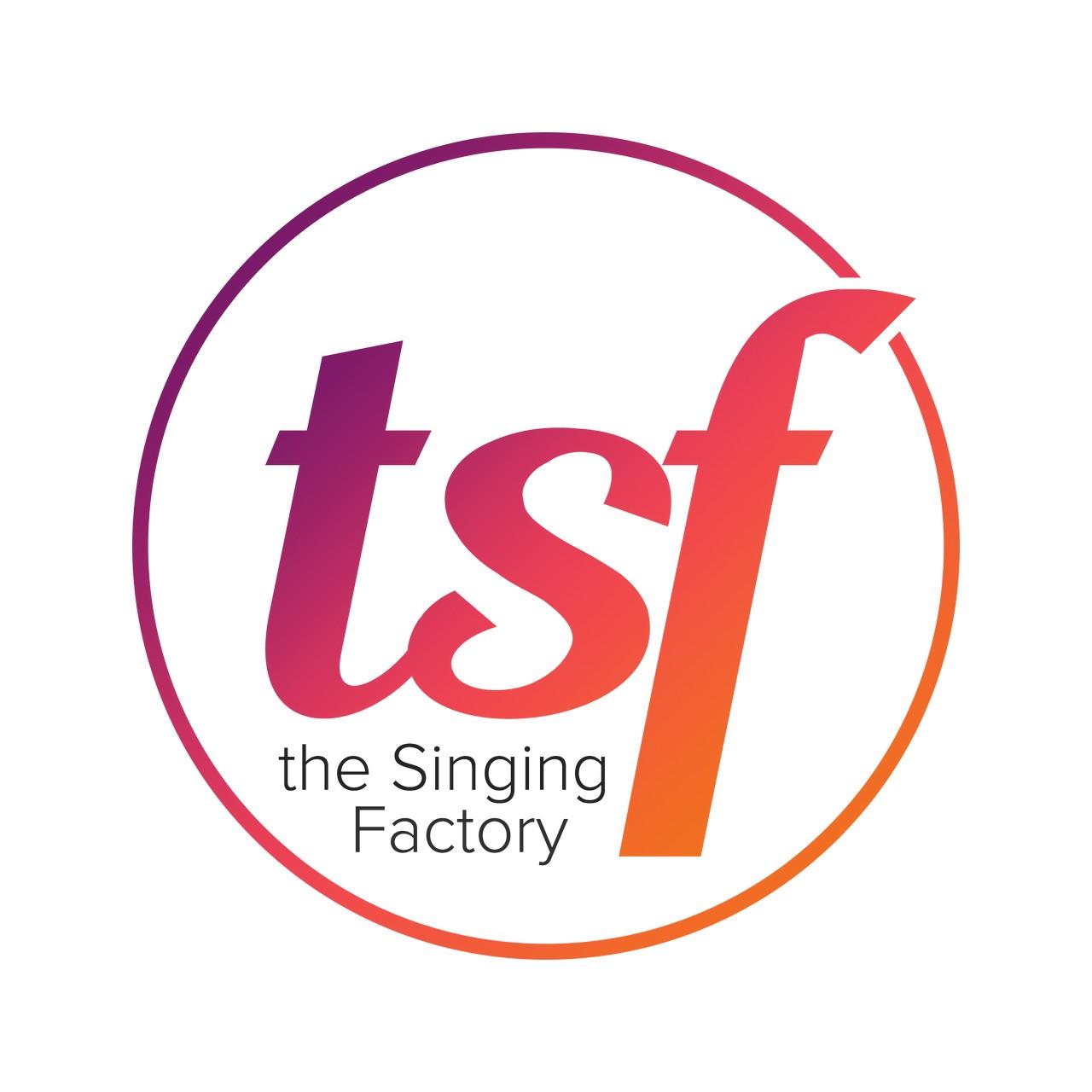 The Singing Factory geeft jonge talenten de kans in June Foster - Logo The Singing Factory