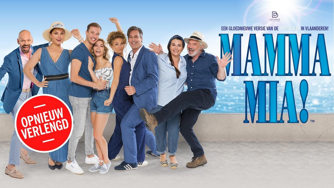 MAMMA MIA! voegt de laatste extra speeldata toe in de paasvakantie - Mamma Mia opnieuw verlengd