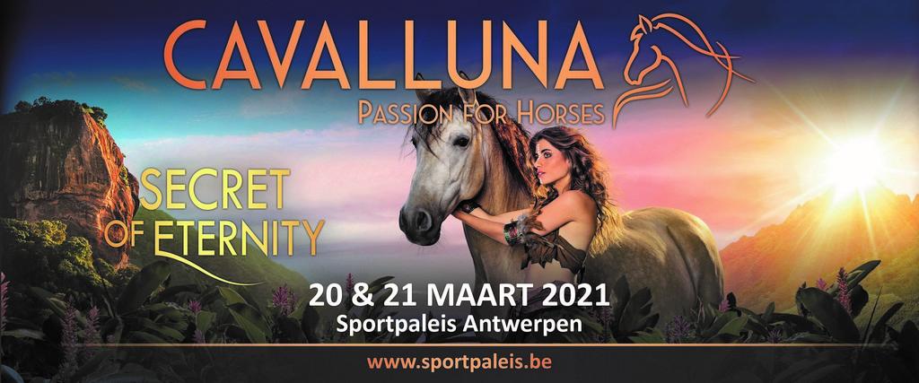 CAVALLUNA komt volgend jaar terug naar het Sportpaleis - Aankondiging Cavalluna 2021 1