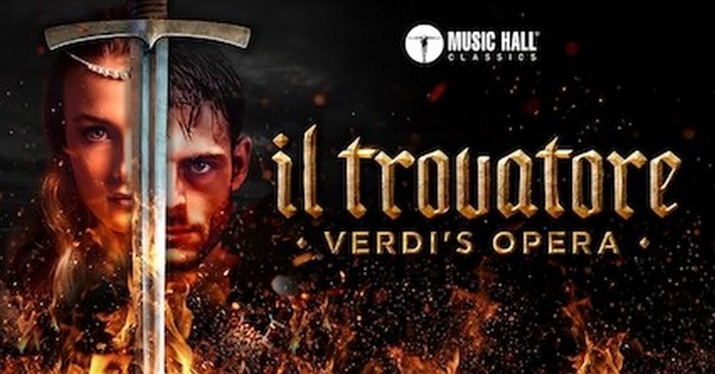 Music Hall Classics en Prima Donna Events presenteren prachtige opera's en adembenemende balletten - Aankondiging Il Trovatore Verdis Opera