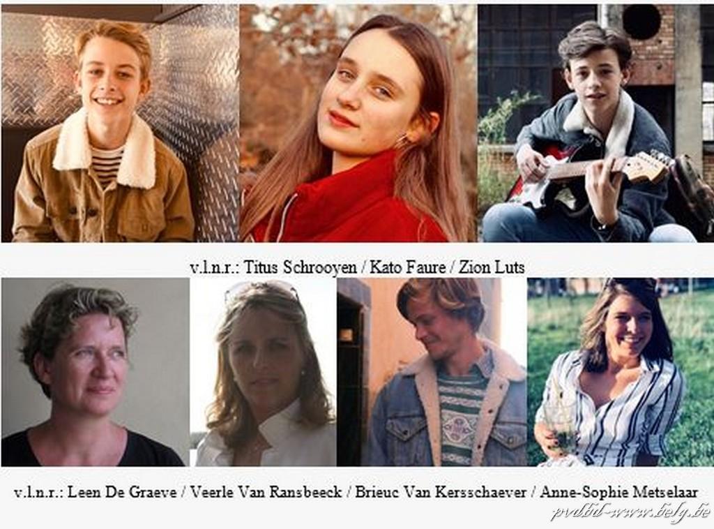 The Singing Factory geeft jonge talenten de kans in June Foster - Cast June Foster
