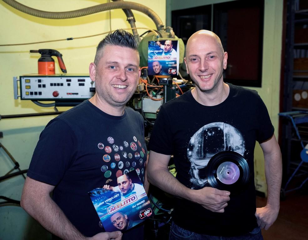 DJ Ward en DJ Jan Vervloet nieuwe versie Fiocco's 'Afflitto'. - DJ Jan Vervloet en DJ Ward