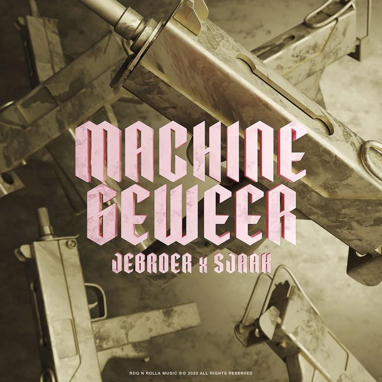 Nieuwe single Jebroer en Sjaak Machinegeweer - Hoes Jebroer Sjaak Machinegeweer