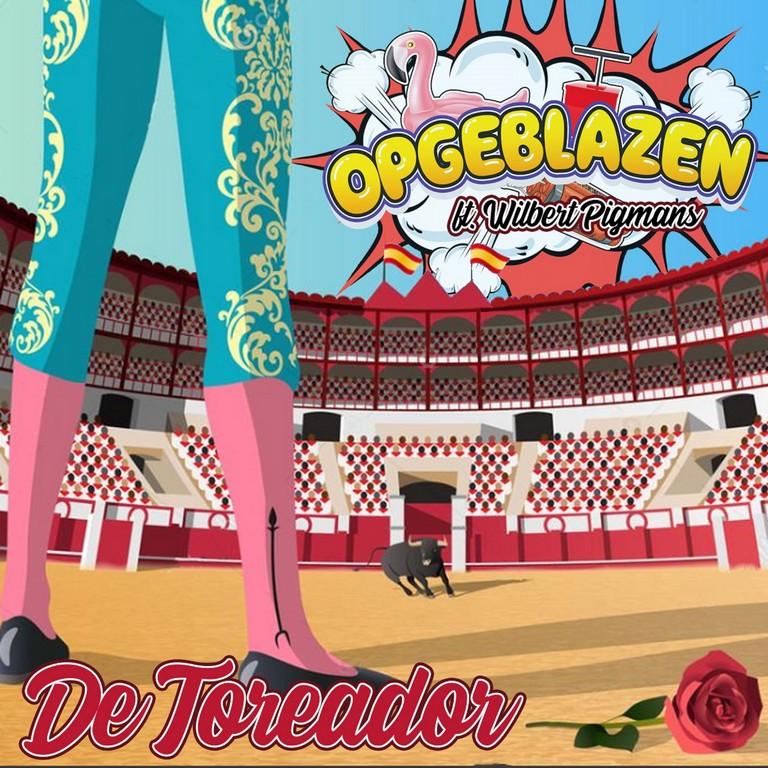 Na Nederland scoort 'De Toreador' van Wilbert Pigmans ook in Vlaanderen! - Hoes Opgeblazen De Toreador