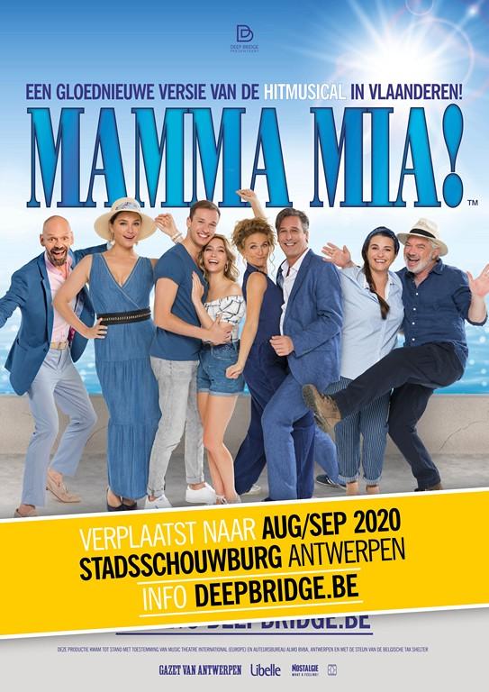 Nieuwe data voor Musical Mamma Mia - Mamma Mia herneming