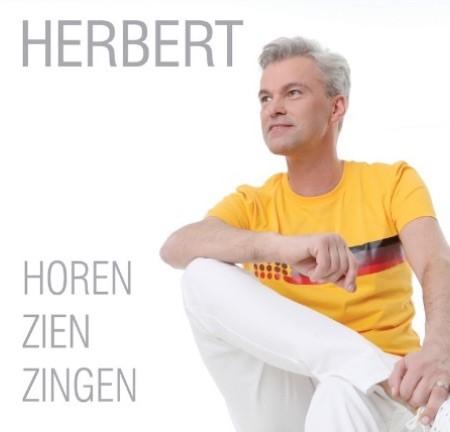 Herbert brengt nieuw album 'Horen, Zien, Zingen' uit - Hoes Herbert Horen Zien Zingen