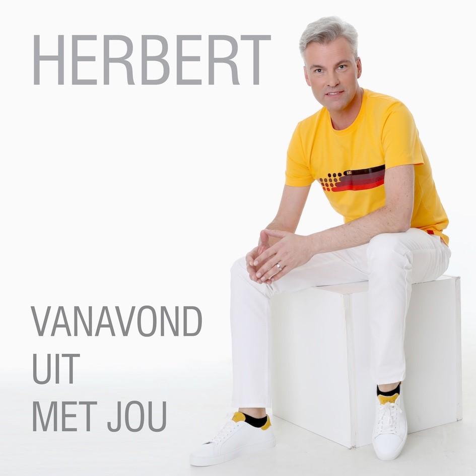 Herbert kiest nieuwe single 'Vanavond uit met jou' - Hoes Herbert Vanavond Uit Me Jou