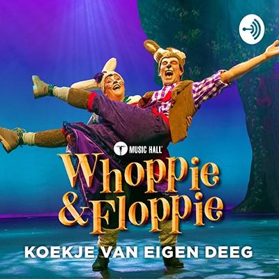 Whoppie en Floppie lanceert eerste hoorspel! - Hoes Whoppie en Floppie koekje van eigen deeg