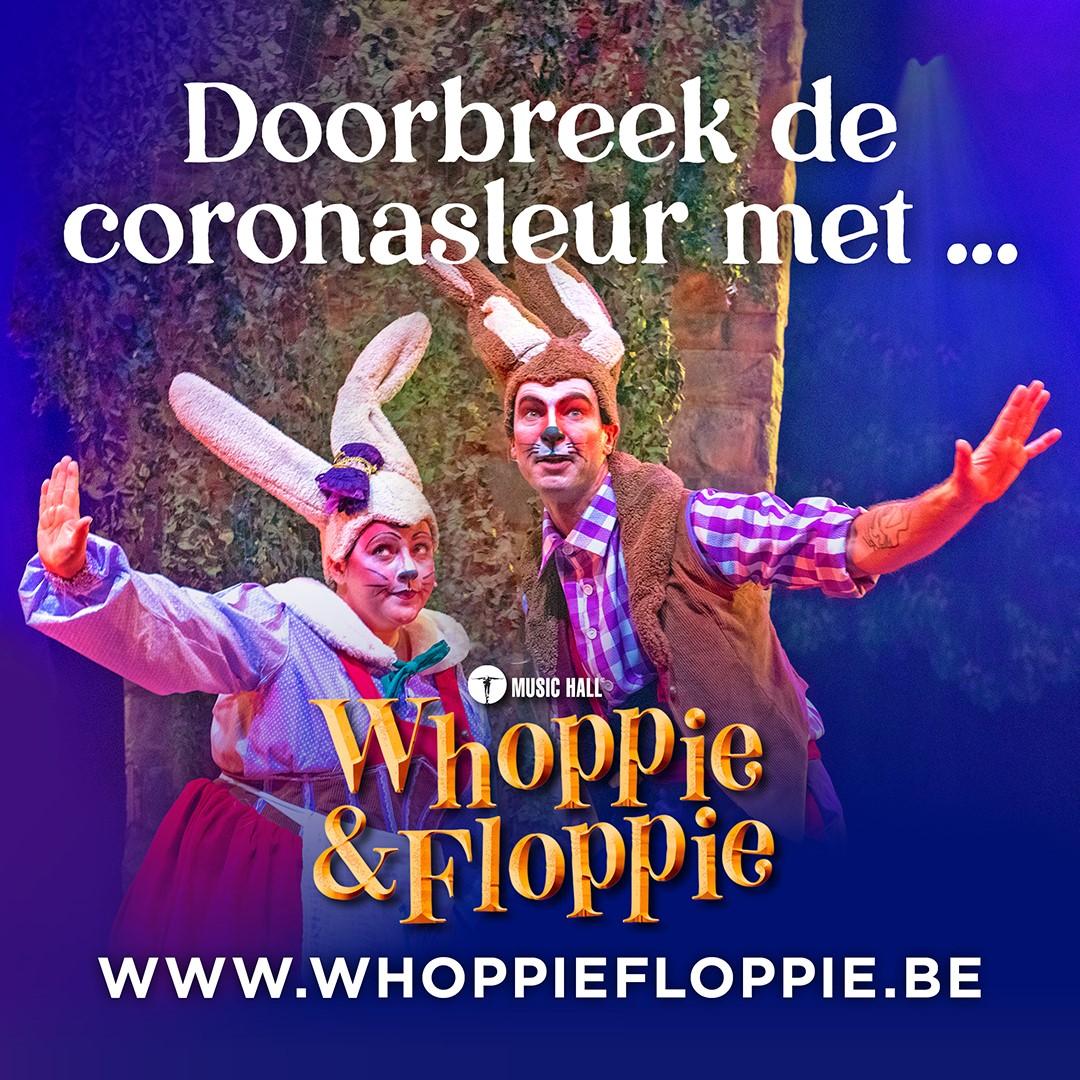 Whoppie en Floppie lanceren eigen kleurplaten én website! - Whoppie en Floppie