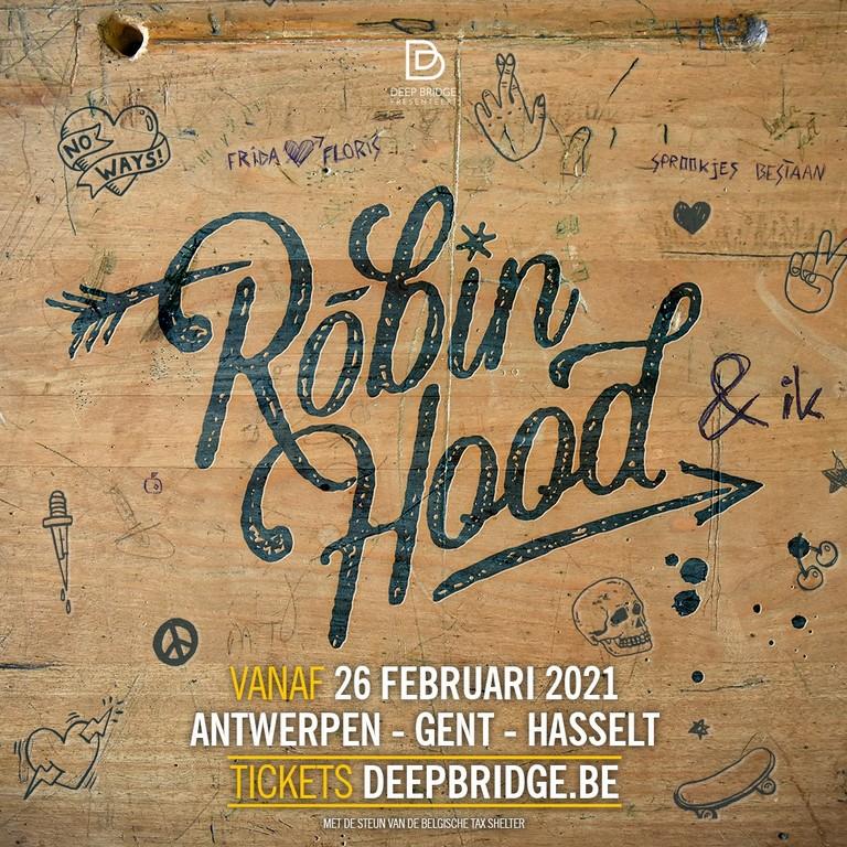 Na Sneeuwwitje presenteert Deep Bridge Robin Hood & ik. - Aankondiging Robin Hood Ik