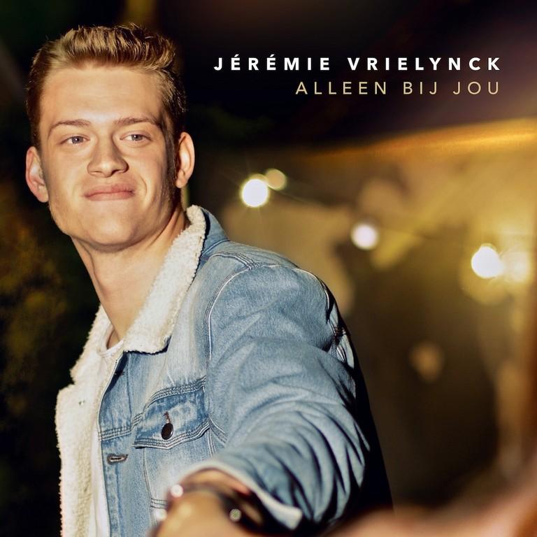 Jérémie Vrielynck viert 20ste verjaardag met nieuwe single - Hoes Jérémie Vrielynck Alleen Bij Jou
