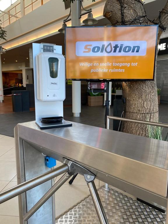 Belgische 'Solotion' implementeert handhygiëne - Solotion handhygiëne