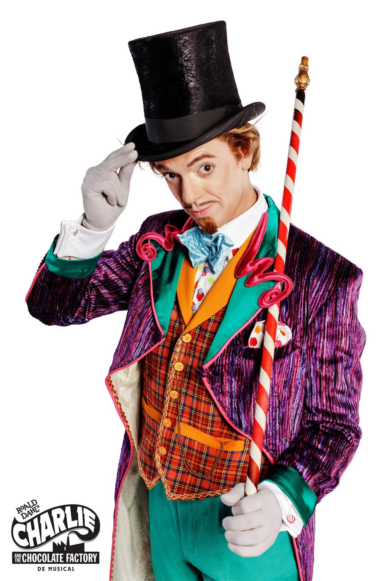 Nordin De Moor wordt Willy Wonka - Aankondiging Charlie and the Chocolate Factory