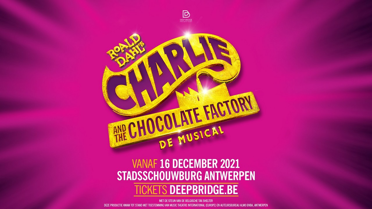 Nordin De Moor wordt Willy Wonka - Affiche Charlie And The Chocolatefactory