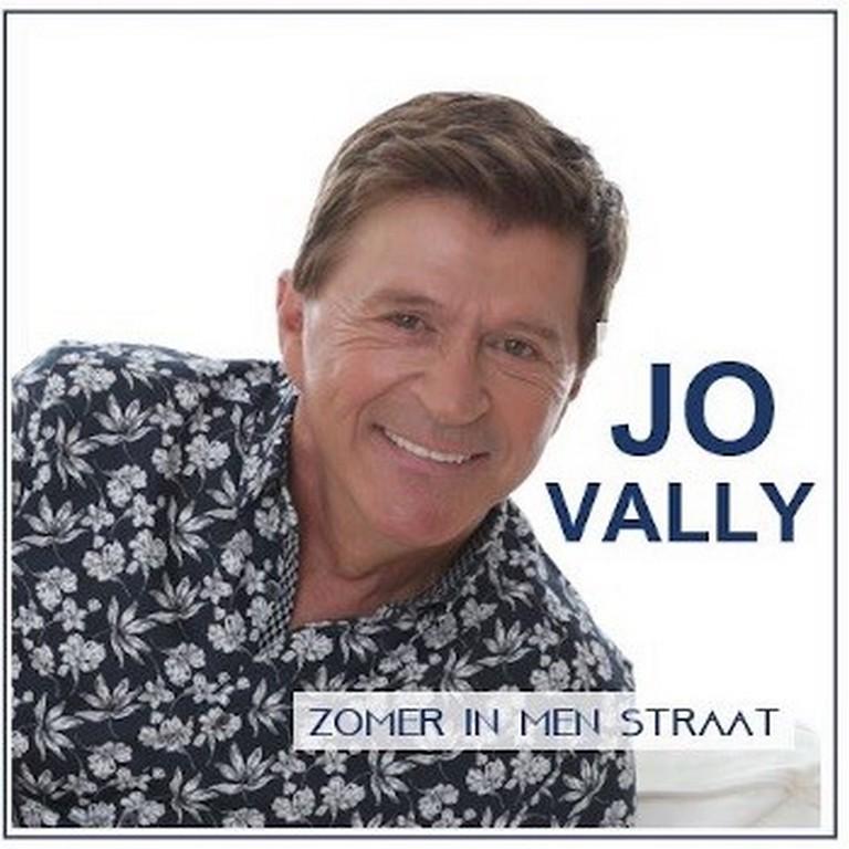 Jo Vally met veel 'Zomer in men straat' - Hoes Jo Vally Zomer in mijn straat