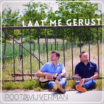 Poot & Vijverman lanceren hun oorwurm 'Laat me gerust' - Hoes PootVijverman Laat me gerust