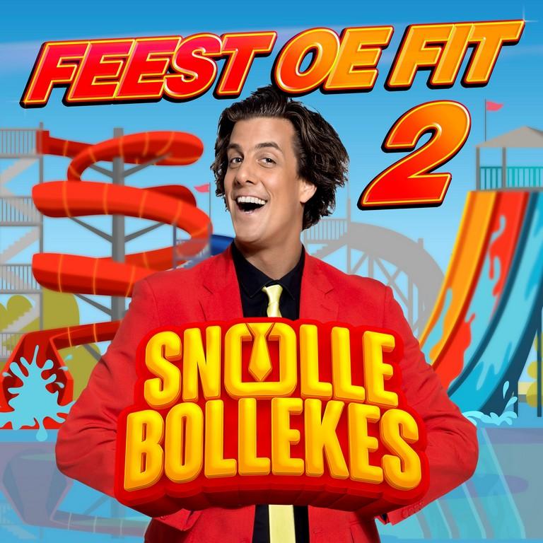 Feest oe fit met de Snollebollekes - Hoes Snollebollekes Feest Oe Fit 2