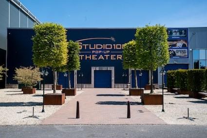 Studio 100 Pop-Up Theater wordt in juli intieme concertzaal - Studio 100 Pop Up Theater