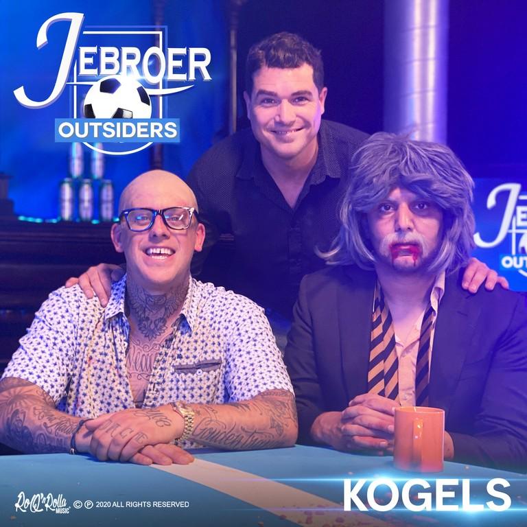 Ruzie in clip van Jebroer - Hoes Jebroer en Outsiders Kogels