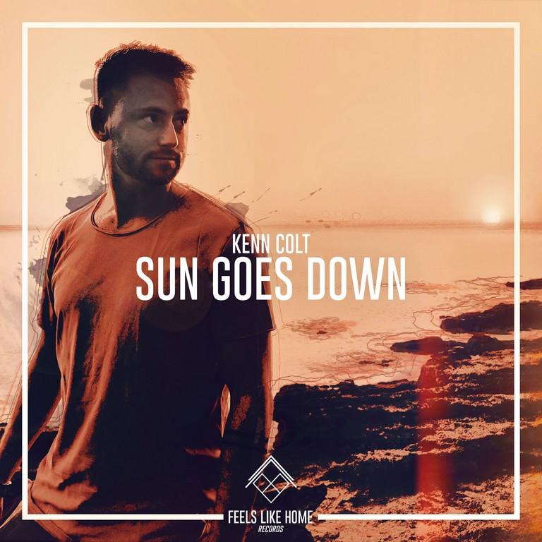 Kenn Colt verzorgt vanavond een dj-set op Green Fields - Hoes Ken Colt Sun Goes Down