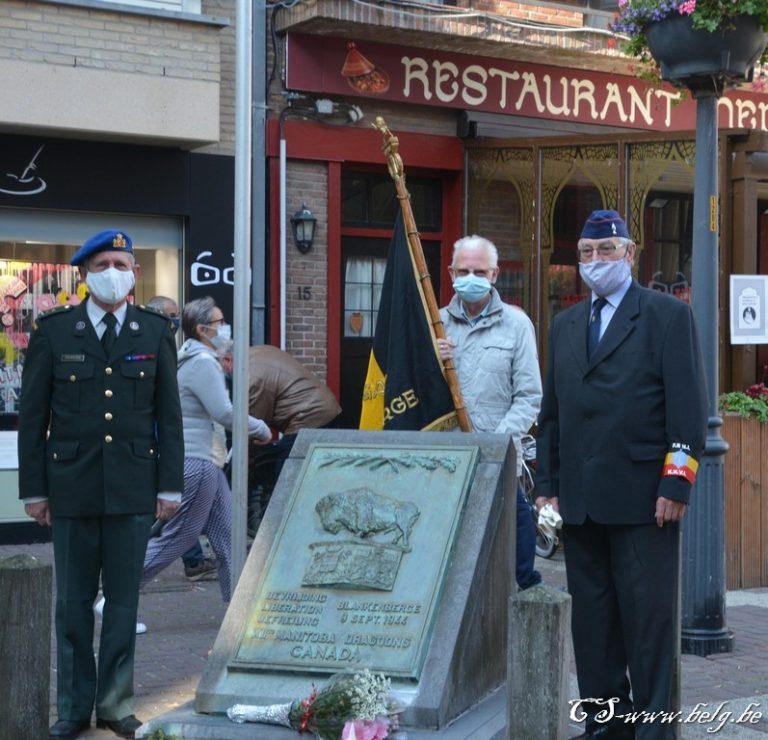 Blankenberge herdenkt ingetogen de bevrijding
