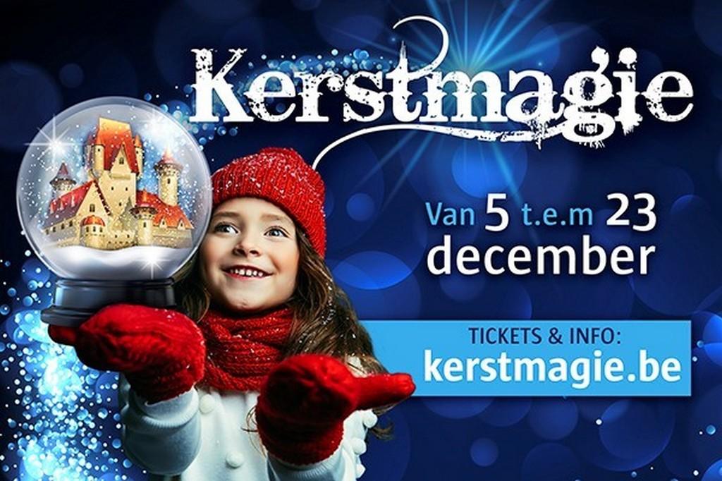 Kerstmagie strijkt neer in 6 Vlaamse kastelen - Aankondiging Kerstmagie 2020