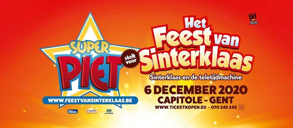 Capitole Gent viert op 6 december 'Het Feest van Sinterklaas'. - Aankondiging het feest van Sinterklaas