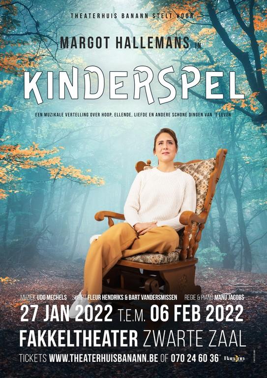 Familie-actrice Margot Hallemans lanceert eigen single - Affiche Margot Hallemans kinderspel