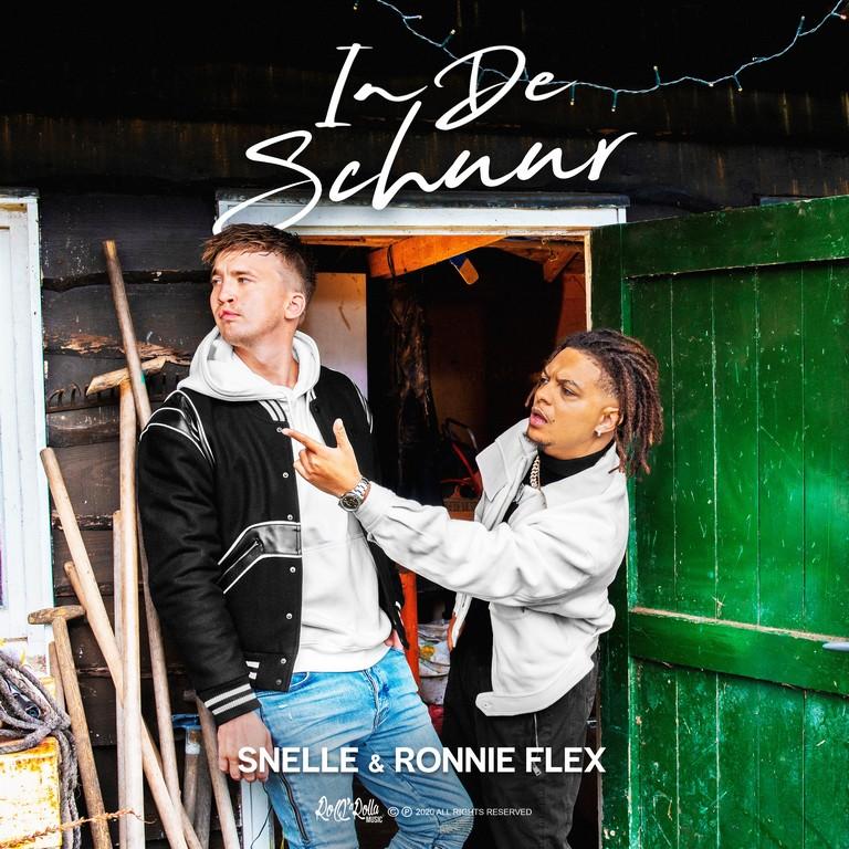 Snelle en Ronnie Flex motiveren met nieuwe single 'In de schuur' - Hoes Snelle Ronnie Flex In De Schuur