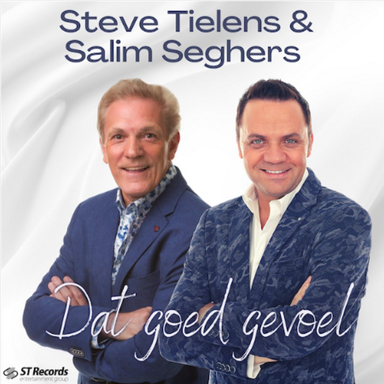 Steve Tielens en Salim Seghers brengen hulde aan alle vaders - Hoes Steve Tielens en Salim Seghers Dat goed gevoel