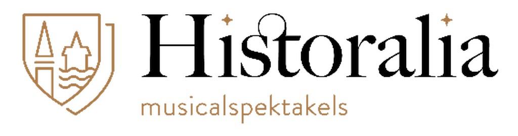 Kerstmagie strijkt neer in 6 Vlaamse kastelen - Logo Historalia Musicalspektakels