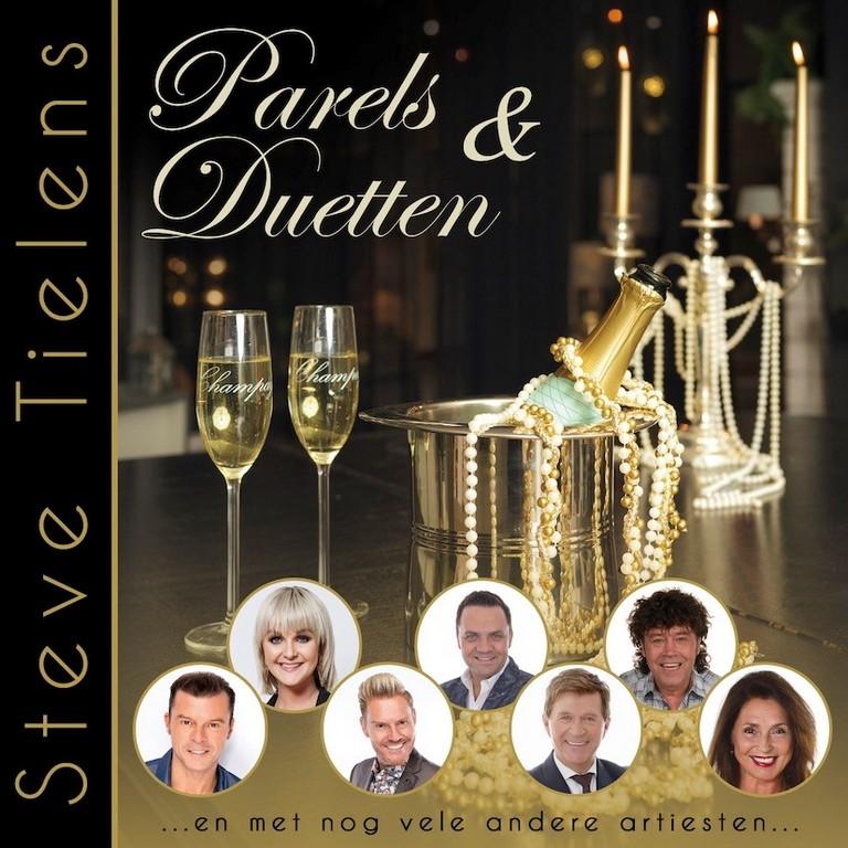 Parels en Duetten, Steve Tielens stelt nieuw album voor - Hoes Steve Tielens Parels en Duetten