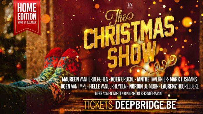 Aankondiging The Christmasshow