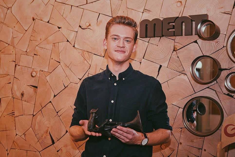 Gouden loftrompet voor Jérémie Vrielynck in categorie doorbraak - Jeremie Vrylinck