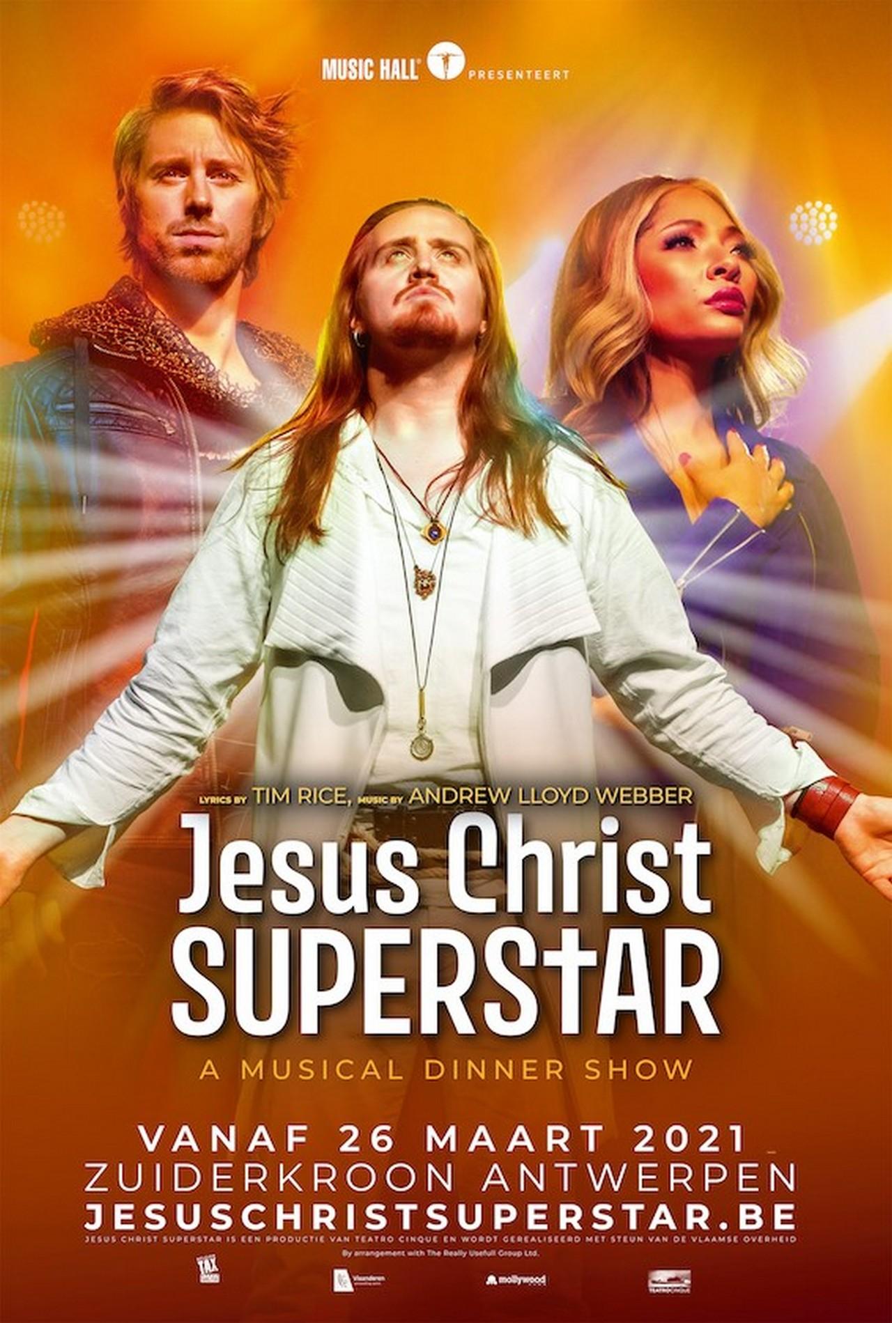 Jesus Christ Superstar - a musical dinner - Affiche musical Jesus christ Superstar