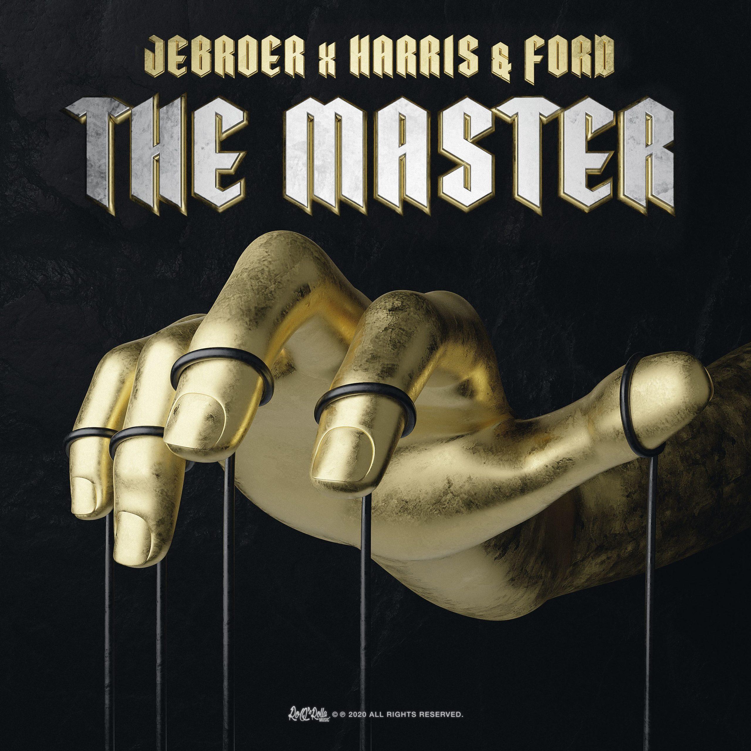 Jebroer met Harris & Ford hun nieuwe single heet The Master - Hoes Jebroer n Harris Ford The master scaled