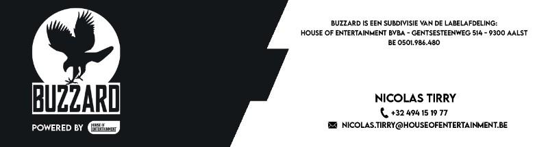 'Onderling akkefietje leidt tot nieuwe single 'Survival Mode' - Logo Buzzard 3