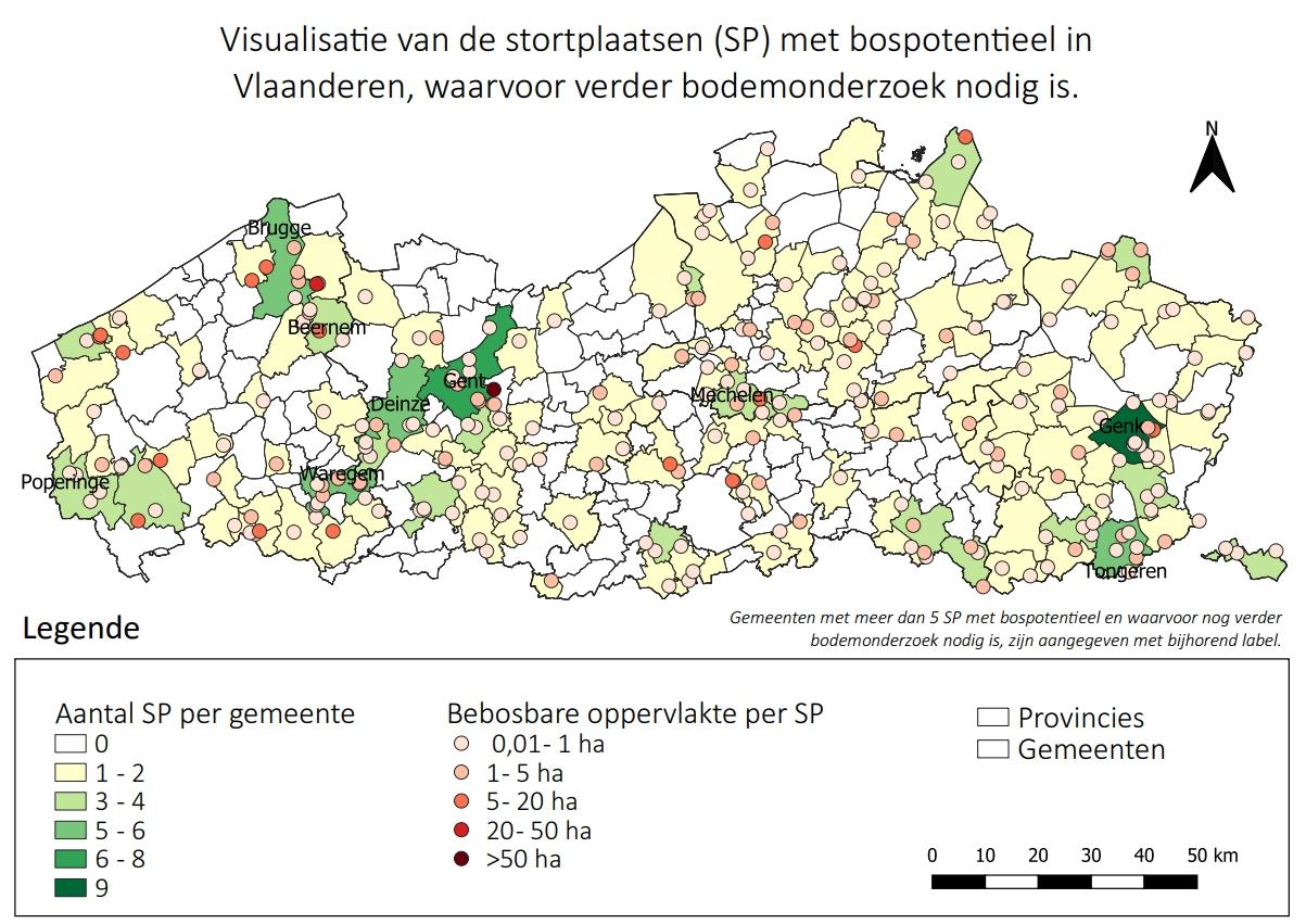 Demir wil 256 stortplaatsen in 147 gemeenten omvormen naar 485 ha extra bos